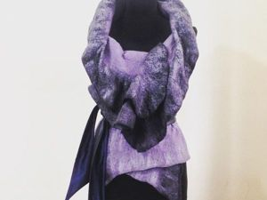 Как свалять жилет из шерсти без навыков конструирования одежды: видеоурок. Ярмарка Мастеров - ручная работа, handmade.