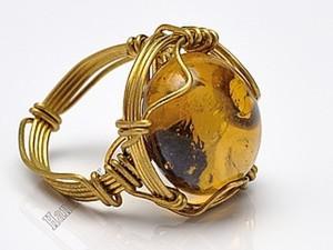 Властелин колец, или Как создать перстень из одного цельного куска проволоки. Ярмарка Мастеров - ручная работа, handmade.