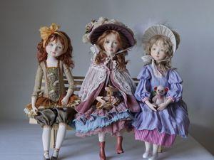 Акция на три куклы. Ярмарка Мастеров - ручная работа, handmade.