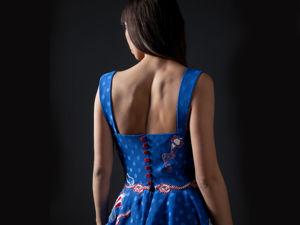 Морской круиз или Идеальное платье для путешествий. Ярмарка Мастеров - ручная работа, handmade.