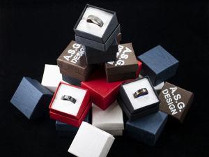 Подарочная упаковка колец. Ярмарка Мастеров - ручная работа, handmade.