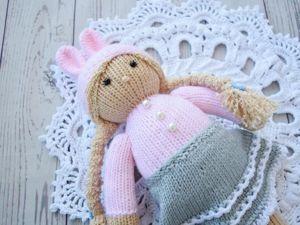 Doll knitting  «Зая». Ярмарка Мастеров - ручная работа, handmade.