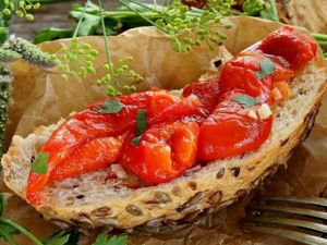 Очень просто ,очень вкусно! Маринованные печеные Перцы. Ярмарка Мастеров - ручная работа, handmade.