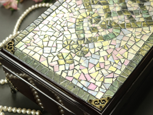 Decorating Box with Mother-of-Pearl Mosaic. Livemaster - handmade