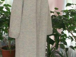 Скидка на вязаное пальто 30%. Ярмарка Мастеров - ручная работа, handmade.
