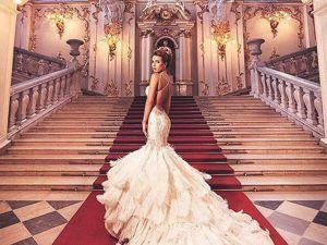 Восхитительный haute couture от питерского модельера Ольги Маляровой. Ярмарка Мастеров - ручная работа, handmade.