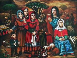 Кялагаи — вершина азербайджанского рукоделия. Ярмарка Мастеров - ручная работа, handmade.