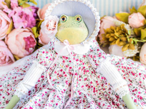 Жаба лягушка Гретэль. Ярмарка Мастеров - ручная работа, handmade.