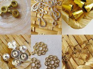 Распродажа фурнитуры для украшений. Ярмарка Мастеров - ручная работа, handmade.