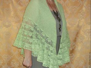 Скидка на шали и палантины 25%. Ярмарка Мастеров - ручная работа, handmade.