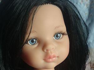 Как заменить глазки кукле Paola Reina (Паолочке). Ярмарка Мастеров - ручная работа, handmade.
