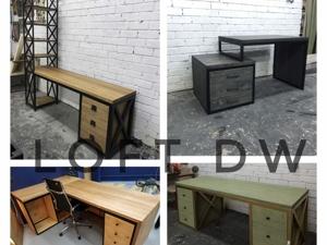 Письменные и рабочие столы в стиле лофт. Ярмарка Мастеров - ручная работа, handmade.