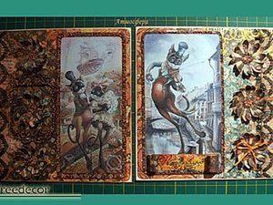 Создаем открытку «Ноты души». Ярмарка Мастеров - ручная работа, handmade.