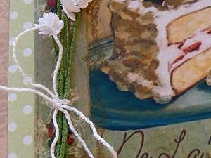 Мастер-класс: букетик цветов для открытки. Ярмарка Мастеров - ручная работа, handmade.