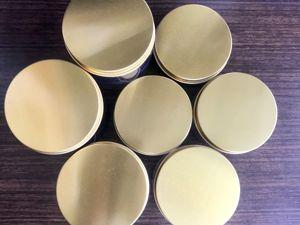 Новинка! Золотистые алюминиевые крышки 89 мм. Ярмарка Мастеров - ручная работа, handmade.