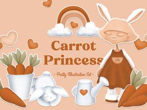 Крошка-Моркошка и любовь к иллюстрации. Ярмарка Мастеров - ручная работа, handmade.