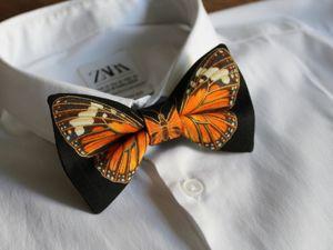 Галстук-бабочка за Каждую Главную!. Ярмарка Мастеров - ручная работа, handmade.