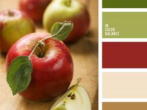 Черпаем вдохновение цветом из мира яблок. Часть 12. Ярмарка Мастеров - ручная работа, handmade.