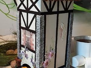 Чайный домик в стиле фахверк. Ярмарка Мастеров - ручная работа, handmade.