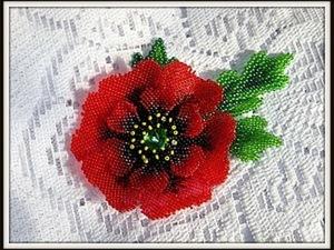 Кирпичное плетение бисером. Ярмарка Мастеров - ручная работа, handmade.