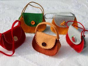 Новинка магазина: кукольные сумочки!. Ярмарка Мастеров - ручная работа, handmade.