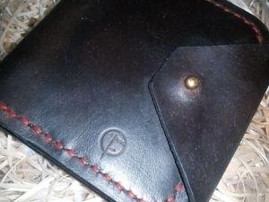 Мастерим компактное портмоне-купюрницу «Old boy». Ярмарка Мастеров - ручная работа, handmade.