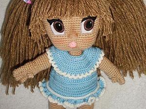 Пышная прическа для куколки. Мастер-класс. Ярмарка Мастеров - ручная работа, handmade.