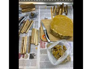 Процесс подготовки создания свечей. Ярмарка Мастеров - ручная работа, handmade.