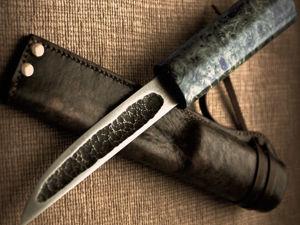 Настоящий якутский нож, тёмный век кузнечного ремесла. Ярмарка Мастеров - ручная работа, handmade.