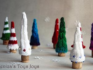 Новогодняя Ёлочка. Или свяжите себе волшебный лес.. Ярмарка Мастеров - ручная работа, handmade.