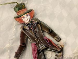Делаем подвижную игрушку Шляпник. Часть 1. Ярмарка Мастеров - ручная работа, handmade.