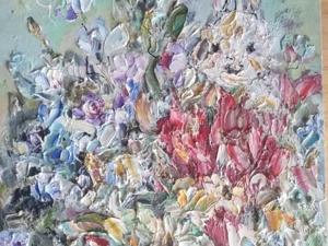 """Картина """"Зайчик!. Ярмарка Мастеров - ручная работа, handmade."""