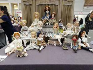 9,10,11 апреля, всех жду на выставке кукол. Ярмарка Мастеров - ручная работа, handmade.