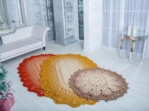 Рельефные ковры из Полиэфирного Шнура. Ярмарка Мастеров - ручная работа, handmade.