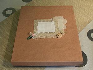 Коробка своими руками. Ярмарка Мастеров - ручная работа, handmade.