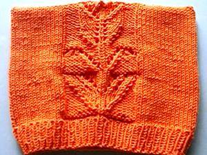 Вяжем ажурную шапочку спицами. Ярмарка Мастеров - ручная работа, handmade.