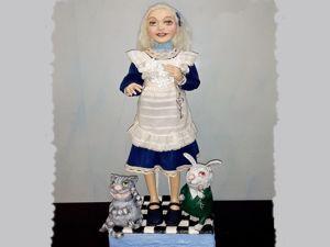 Новая сказочная кукла — Алиса. Ярмарка Мастеров - ручная работа, handmade.
