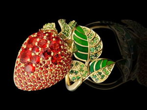 Strawberry Mood: Allure, Warmth of Berry Jewels. Livemaster - handmade