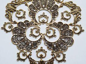 Узоры и орнаменты для декора. Античное золото. Ярмарка Мастеров - ручная работа, handmade.