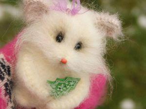 Мышки-малышки на заказ. Ярмарка Мастеров - ручная работа, handmade.