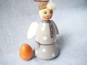Изменение цены  «Ангела Кудряшка». Ярмарка Мастеров - ручная работа, handmade.