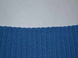 Вязание резинки 2х2 через 1 иглу (промышленный вариант) с не растянутым краем. Ярмарка Мастеров - ручная работа, handmade.