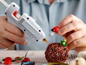 Мир в котором клей превращается в сказку. Идеи для творчества из горячего клея. Ярмарка Мастеров - ручная работа, handmade.