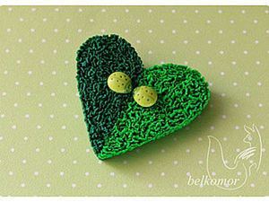 Making Fluffy Realistic Grass of Polymer Clay. Livemaster - handmade