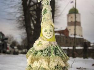 Создаем текстильную елочку-красавицу для новогоднего интерьера. Ярмарка Мастеров - ручная работа, handmade.
