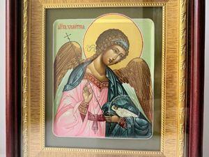 Икона святого Ангела Хранителя + Летние скидки!. Ярмарка Мастеров - ручная работа, handmade.