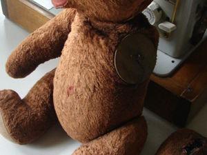 Мой способ реставрации старых медведей. Ярмарка Мастеров - ручная работа, handmade.