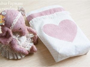 Шьем тканевую сумочку для тедди-игрушки. Ярмарка Мастеров - ручная работа, handmade.