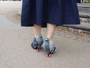 Туфли-голуби и ещё 20 пар обуви, которые не захочется примерить. Ярмарка Мастеров - ручная работа, handmade.