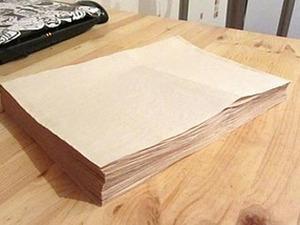 Как я тонирую листы для блокнотов. Ярмарка Мастеров - ручная работа, handmade.
